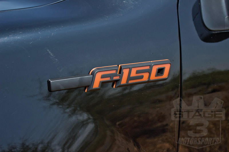 Orange Camo Ford Symbol