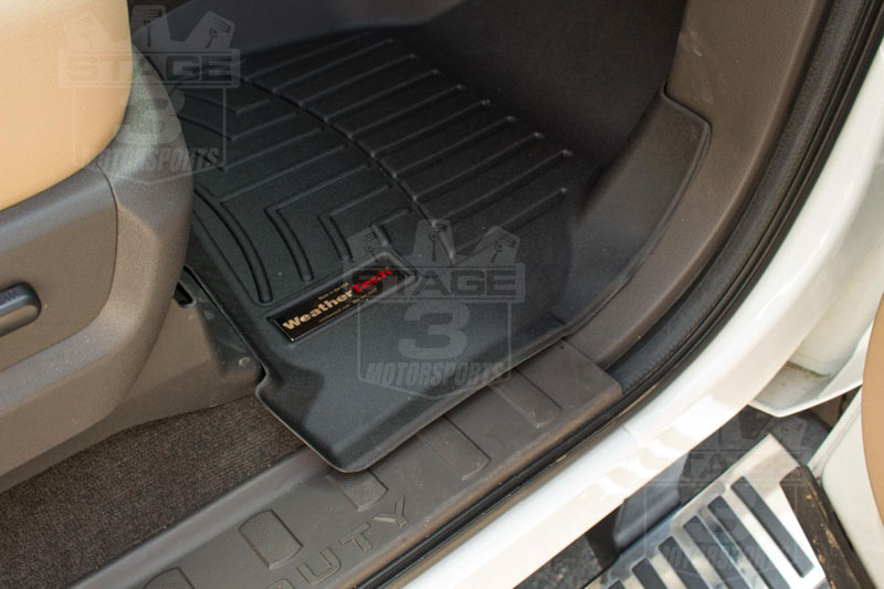 Super Crew Cab >> 2011-2016 F250 & F350 Super Duty SuperCrew WeatherTech Digital Fit Front & Rear Floor Mats