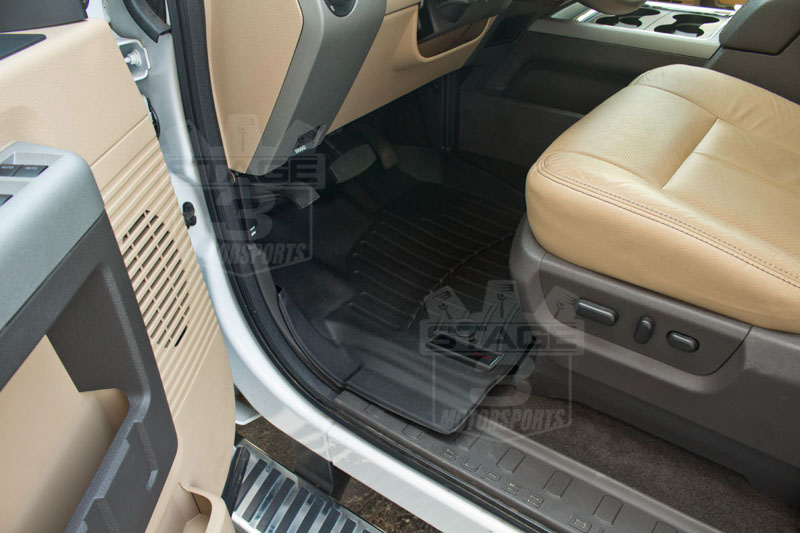 Weather Floor Mats >> 1999-2007 F250 & F350 Super Duty SuperCrew WeatherTech Digital Fit Front & Rear Floor Mats ...