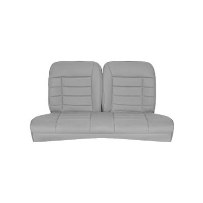 1984 1993 Mustang Hatchback Corbeau Rear Seat Cover Grey